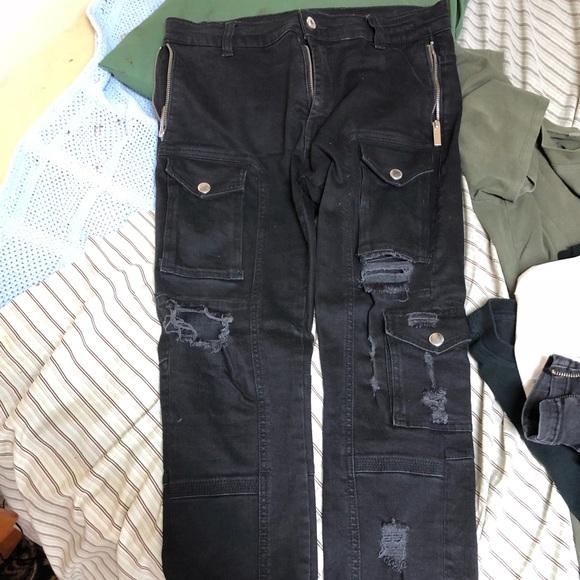569608abfe0b8 Violent Rose Distressed Kago Jeans. M 5ae533c12ae12fbefe34ed62